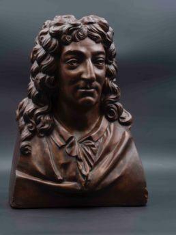 Buste de Molière, XIXe siècle