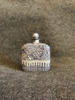 Flasque en porcelaine, XXe siècle. Parfait état.