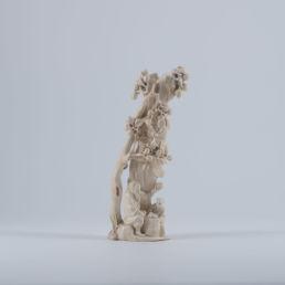 Okimono en ivoire, XIXe siècle