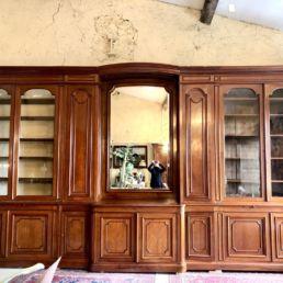 Très grande bibliothèque, XIXe siècle