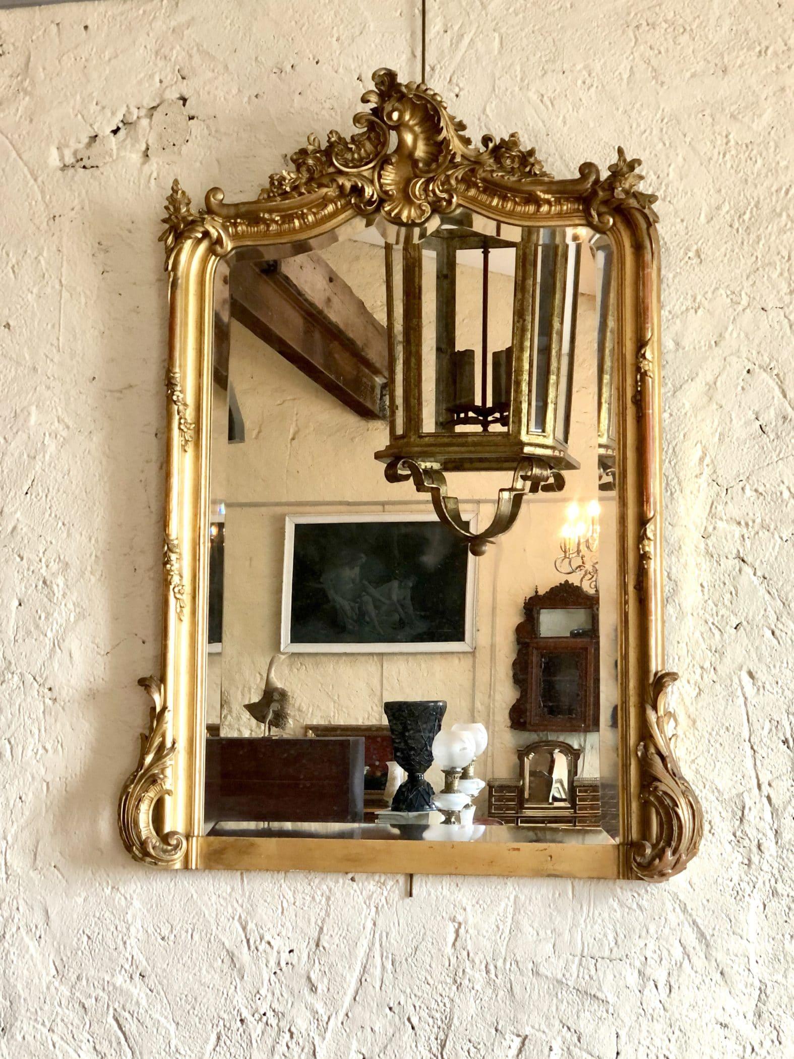 Miroir de style Louis XV, XIXe siècle