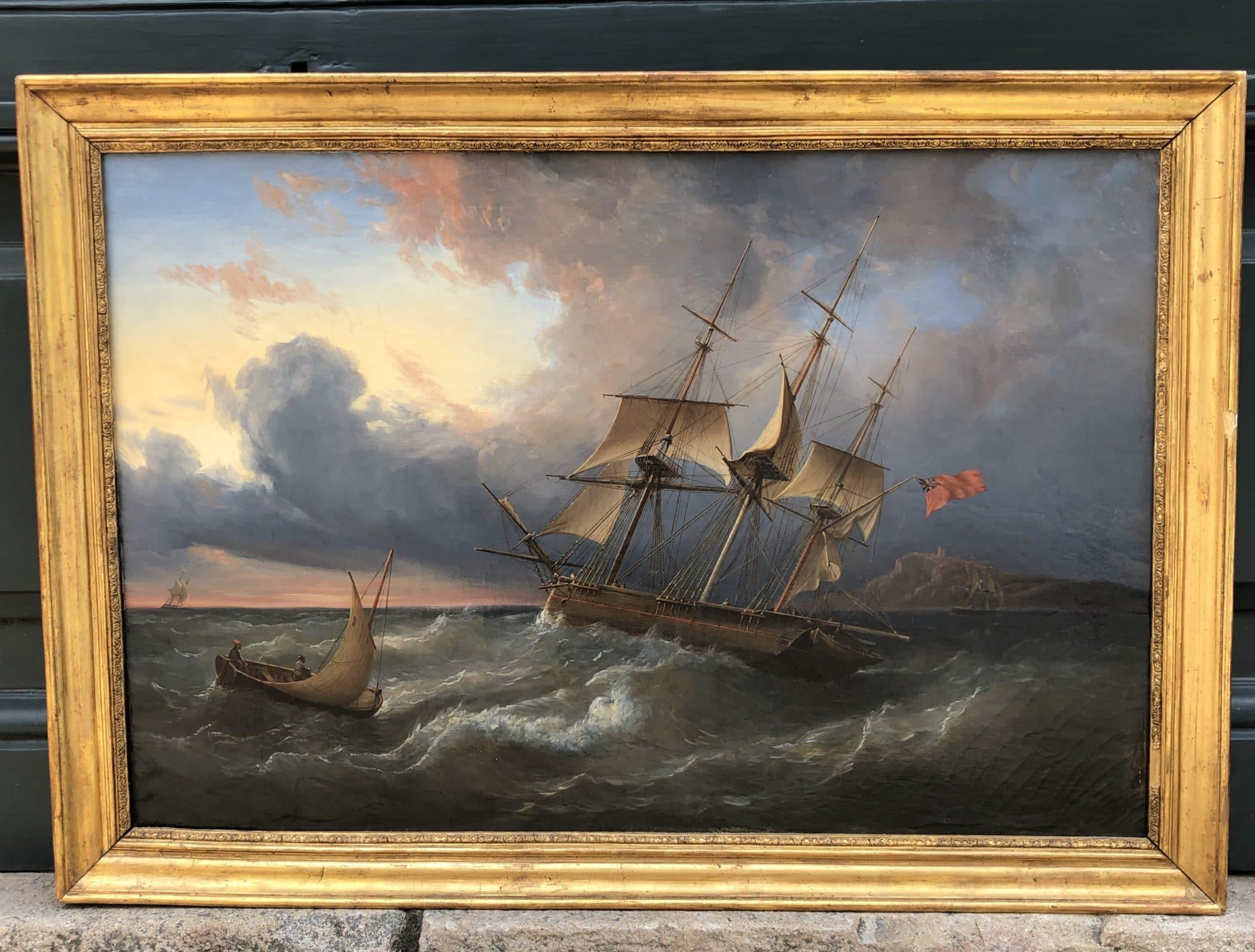 Marine anglaise, XIXe siècle