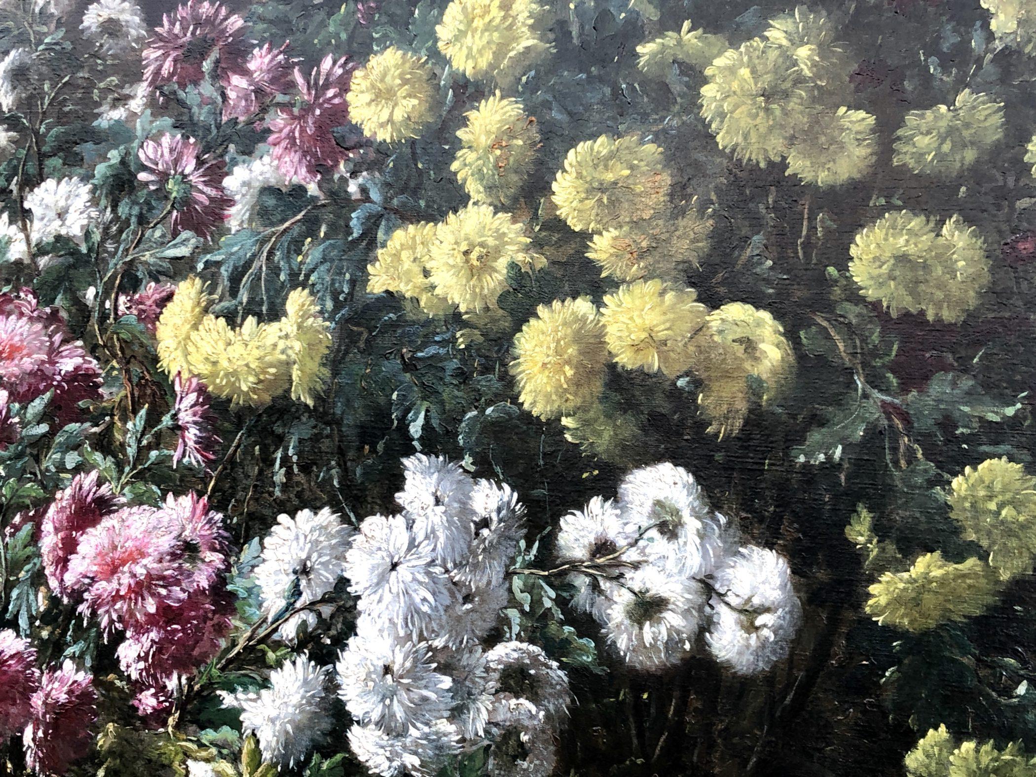 Nature morte aux fleurs signée Eugène Claude (1841 - 1923) et datée de 1913